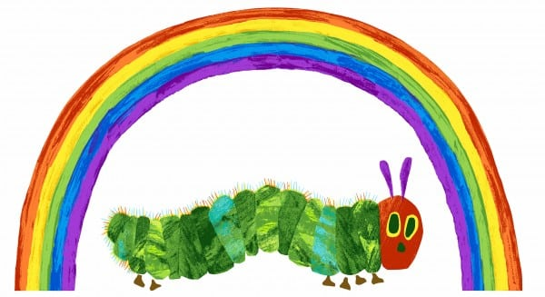 The very hungry caterpillar from seiwng direct