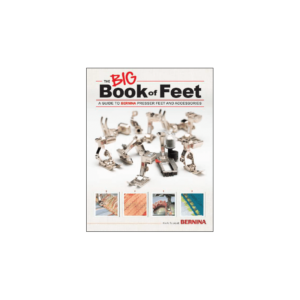 Bernina Big book of feet - sold by sewing direct bernina dealer