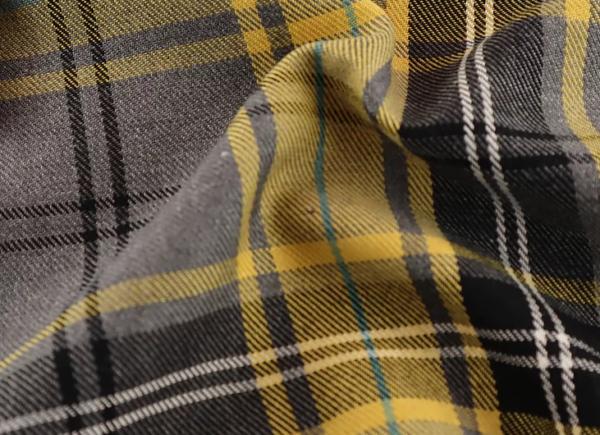 Grey and Golden Yellow Fashion Tartan, grey and yellow tartan, grey and yellow tartan by the quarter metre, grey and yellow tartan by the half metre, grey and yellow tartan by the metre, grey and golden yellow tartan by the metre