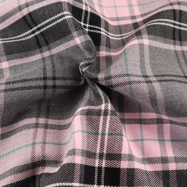 Grey and Pink Fashion Tartan, Grey and Pink Tartan, Grey and Pink Tartan by the quarter metre, grey and pink tartan by the half metre, grey and pink tartan by the full metre