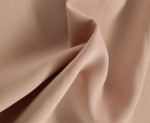 Beige polyester bi stretch, beige bi stretch, bi stretch by the quarter metre, bi stretch by the half metre, bi stretch by the metre, trouser fabric, skirt fabric, trouser fabric by the metre