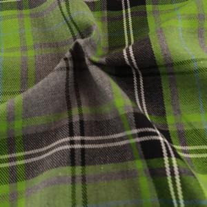 Grey and Lime Fashion tartan, grey and green fashion tartan, grey and lime green fashion tartan by the quarter metre, grey and lime green fashion tartan by the half metre, grey and lime green fashion tartan by the metre